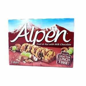 Alpen light bars fruit and nut chocolate snack low fat 5 pack 95g image is loading alpen light bars fruit and nut chocolate snack aloadofball