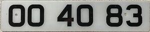 UK-British-Vanity-Personalised-Acrylic-Number-License-Licence-Plate-OO-4083