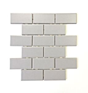 Image Is Loading 2x4 Gray Matte Subway Ceramic Tile Kitchen Backsplash