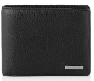 HUGO BOSS Billon Men's Tri-Fold Coin Pocket Wallet 50248895 , 100% Authentic!