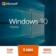Windows 10 Home | 32/64 Bit Win KEY | Vollversion | Original GENUINE Microsoft