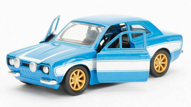 Fast /& Furious Brians Ford Escort 1-32 Diecast model Scale New Boxed Jada 97188