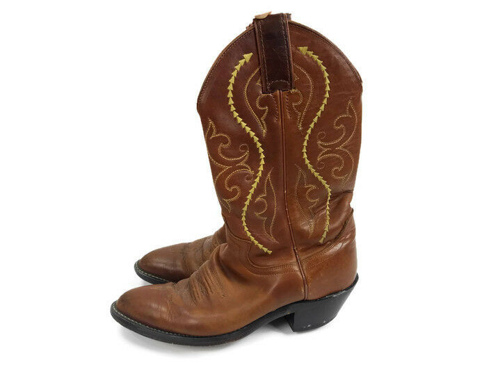 Justin L4936 Women's Classic Western Boot golden Saltillo Cowhide 6B Made in Mex