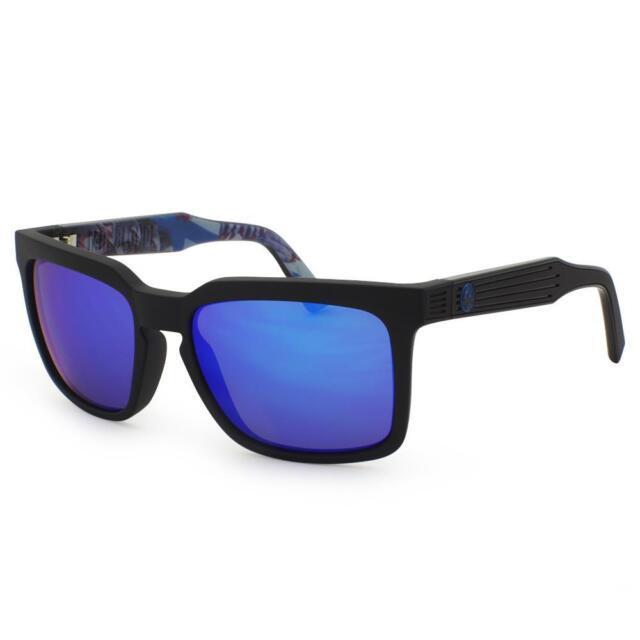 Dragon MR BLONDE Sunglasses - Matte Black Schoph with Blue Ion lens 720-2316