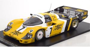 nueva marca 1 18 Spark Porsche 956 Nuevo Nuevo Nuevo Hombre Winner Le Mans 1985  7 Invierno Ludwig Barilla  ahorre 60% de descuento
