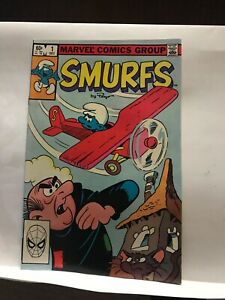 Smurfs-Comics-1-2-And-3-Set-1982-Nm-SET-OF-3