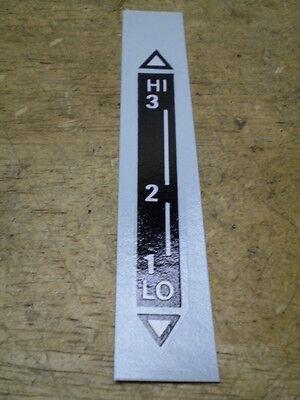 4 Schwinn Stingray Krate Fastback Stick Stik-Shift shifter nylock friction nuts