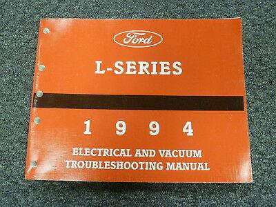 1994 Ford L8000 L9000 Dump Truck Vacuum & Electrical ...