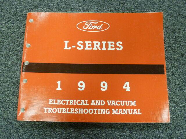 1994 Ford L8000 L9000 Dump Truck Vacuum  U0026 Electrical