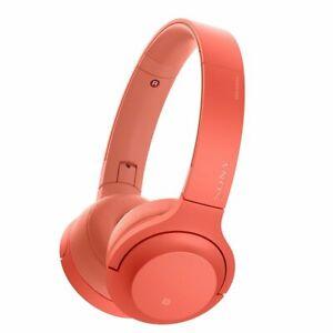 SONY-Wireless-Headphone-h-ear-on-2-Mini-Wireless-WH-H800-R-Twilight-Red-New