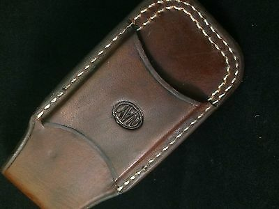 Custom Leather Sheath//Case for the Leatherman Surge New Open Top Belt Carry