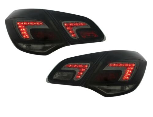 2 Rear Lights Opel Astra J 2009-2015 1.3 1.7 2.0 CDTI 1.4 1.6 Black Smoke