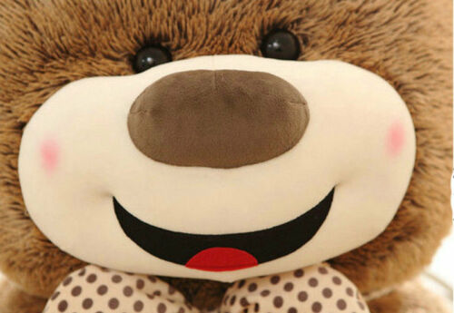 Giant Big Teddy Bear Plush Soft Toys Doll Pillow Only Cover with Zipper US 72in