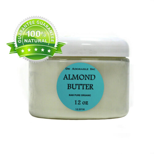 SWEET ALMOND BUTTER ORGANIC COLD PRESSED PURE