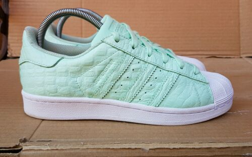 Colour 5 Gorgeous Grün Mint 5 Colour Trainers Reptile Uk Skin Adidas Größe ... ae4bd5