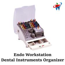 Dental Instruments Endo Cube Organizer Bur File Stand Endo Workstation