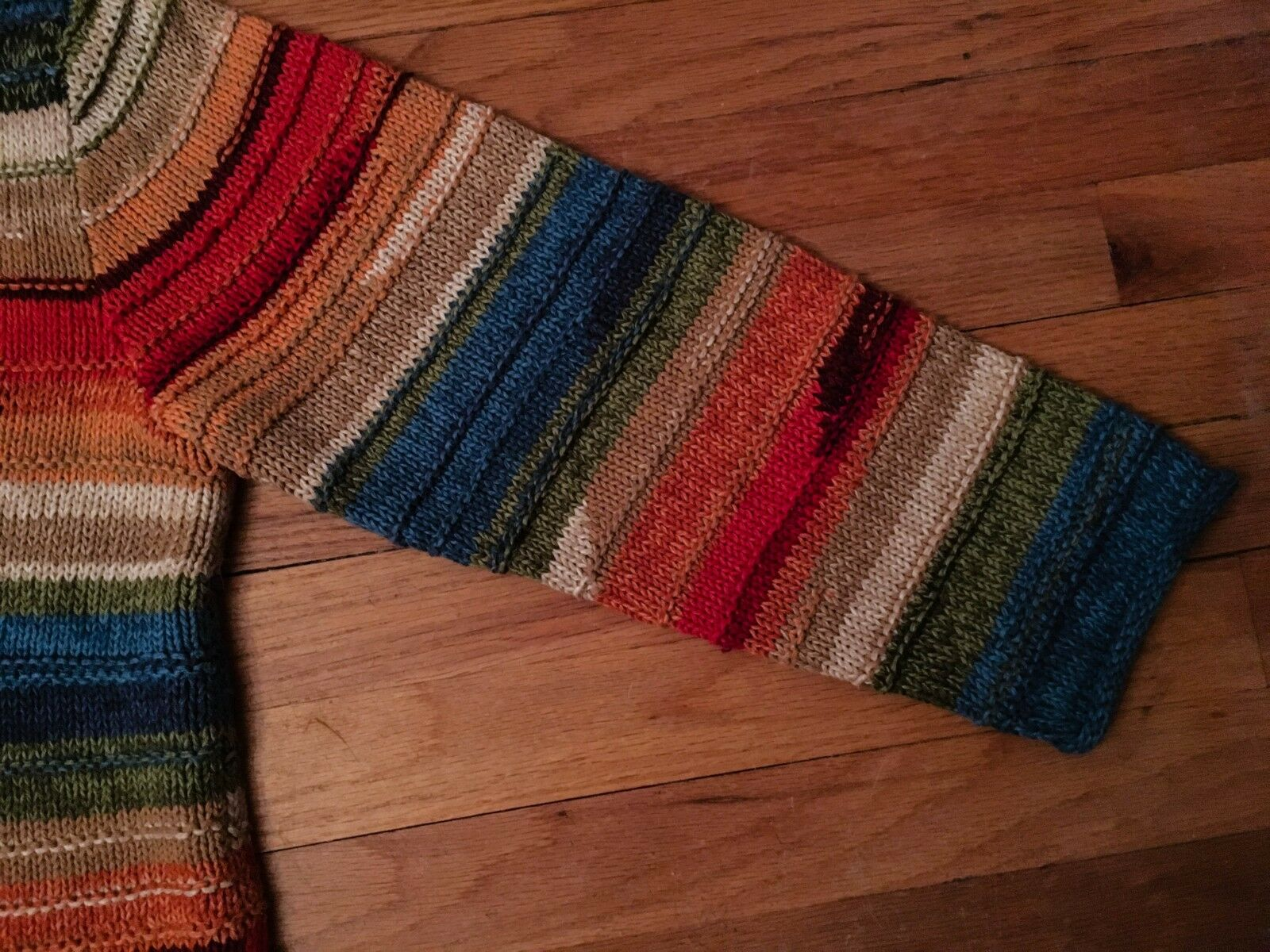 Coldwater Creek Women's Women's Women's Sweater Multi-color Stripe Large 07a247