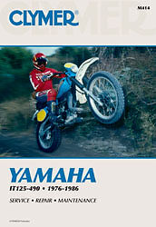 CLYMER REPAIR MANUAL Fits Yamaha IT200,IT490,IT175,IT250,IT465,IT125,IT425,IT40