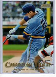 Christian-Yelich-2019-Topps-Stadium-Club-5x7-Gold-87-10-Brewers