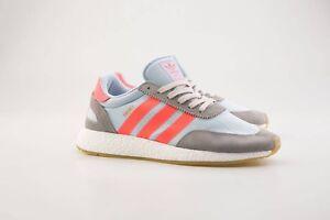 9.99 BB2098 Men Adidas Original Iniki Runner Boost gray charcoal