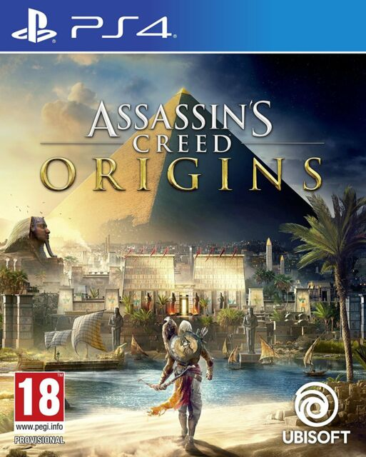Assassin's Creed Origins (PS4) BRAND NEW SEALED ASSASSINS PLAYSTATION 4