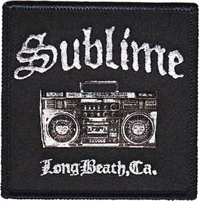 """Sublime Boombox Iron On Patch 3/"""" x 3/"""" Officially Licensed C/&D P-4093"""