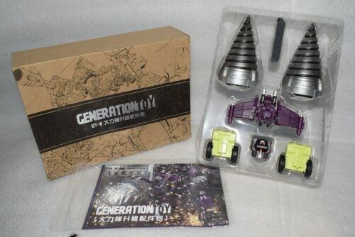 New Transformers Generation Toy GT-09 Upgrade Kit Apply GT//NBK Devastator MISB