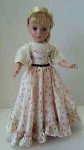 Vintage-Amy-Little-Women-Doll-14-15-034-Madame-Alexander-1950-margaret-face