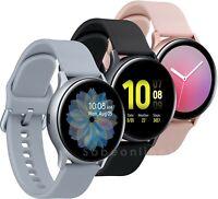 Samsung Galaxy Watch Active2 44mm Bluetooth Smartwatch (Aluminum, Aqua Black) - Open Box