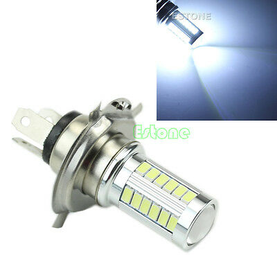 12V H4 33 LED SMD Super Bright White Car Fog Light Headlight Driving Lamp Bulb