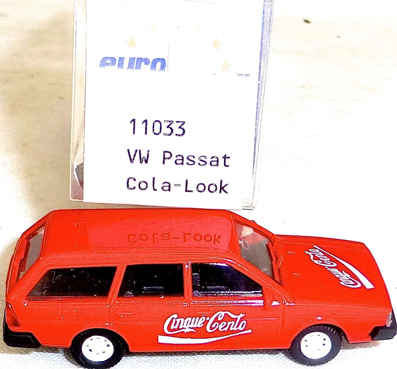 VW Passat Year 1981 Cola Look Imu Euromodell 11033 H0 1 87 Ovp  H01 Å