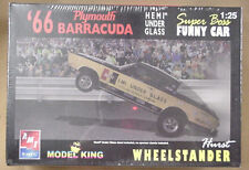 66 Plymouth Hemi Under Glass Barracuda AMT Model King kit  1966 # 21433