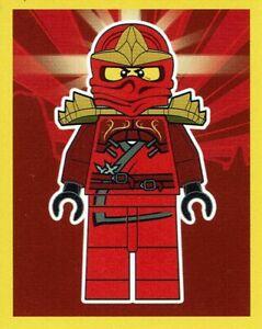 8 aus 289 Stickern Lego Ninjago Legacy Sticker Nummer Nr