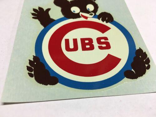 Vintage 1960s Chicago Cubs Sticker