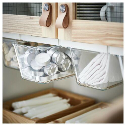 4 x IKEA Dosenhalter Halter für Vorratsdosen Organizer Schubfächer Vorratsregal