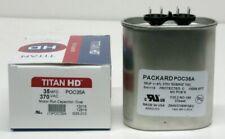 Titanhd Poc35a American Made Hvac Oval Motor Run Capacitor 35 Mfduf 370 Volts