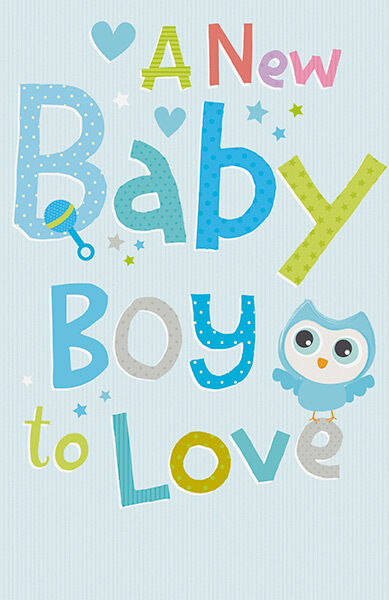 a baby boy birth congratulations adorable son greeting card ebay