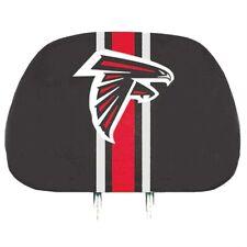 Atlanta Falcons Printed Color 2-pack Head Rest Covers Elastic Auto Football