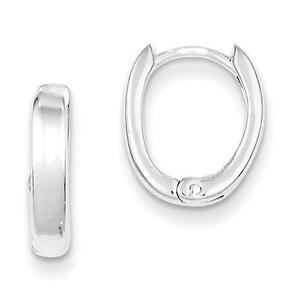 925-Sterling-Silver-Polished-Oval-Hinged-Hoop-Earrings-3mm-x-12mm
