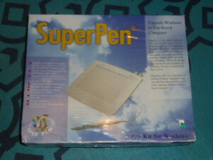 UC LOGIC SuperPen Kit For Windows SP-6045 Painting Drawing Signiture Capture