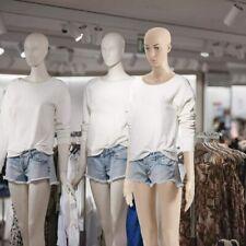 Plastic Detachable Mannequin Stand Female Mannequin Torso Dress Form Full Body