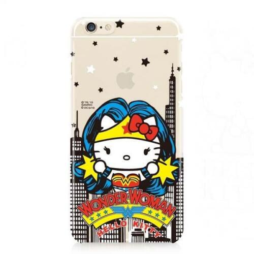 "New Sanrio Hello Kitty X DC Wonder Woman IPHONE 6 6s PLUS 5.5/"" COVER HARD CASE"