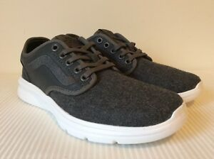 ed4e0c39f6fa0d Vans Iso 2 Wool Pewter White Sneakers Shoes VN000184I4W New W OUT ...