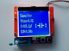 Big 12864 LCD  ESR Meter Transistor Tester Diode Triode Capacitance MOS PNP/NPN