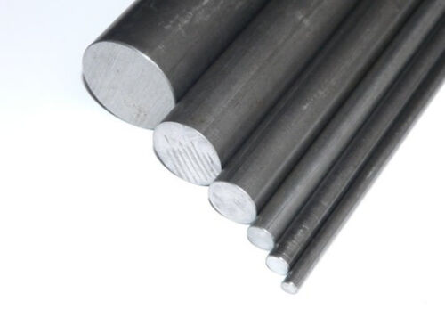 BRIGHT MILD STEEL ROUND SOLID BAR 4MM TO 40MM ALL SIZES AND LENGTHS FREE POSTAGE