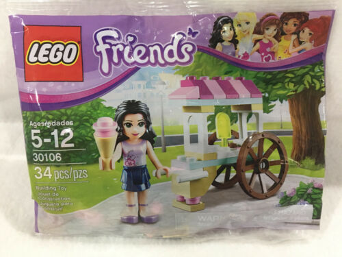 LEGO Friends #30106 - Emma - New, Sealed PolyBag - Great Stocking Stuffer