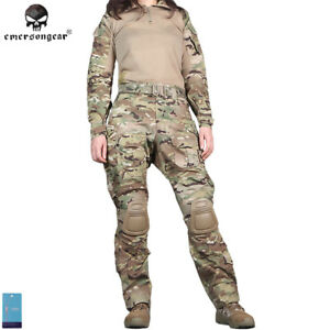 b7ce733cc71 Details about Emerson G3 Tactical Combat Uniform Women BDU Airsoft Clothing  Camo MultiCam