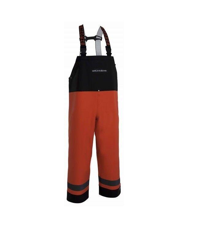 Grundens Balder BIB trousers MXXL Proibirel Pioggia Pantaloni Pants in gomma Rubber