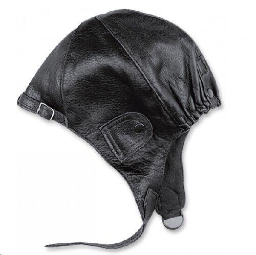 Held gorra aviador negro XXL cuero para descapotable coche antiguo tapa  Capó  026eb6445ee6