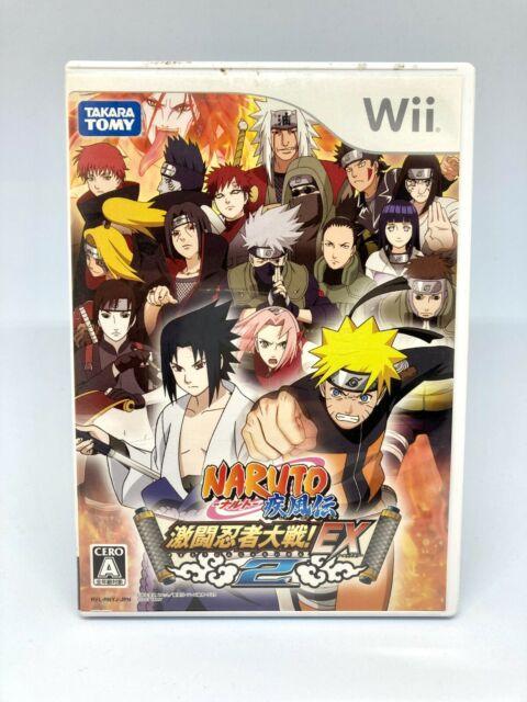Nintendo Wii - Naruto Shippuuden : Gekitou Ninja Taisen Ex 2 - Version Japon